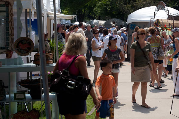 Krasl Art Fair on the Bluff, St. Joseph Michigan V