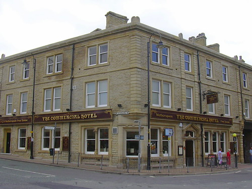 "J D Wetherspoon's ""The Commercial Hotel"" (Pub) 1 Church Street, Accrington, Lancashire BB5 2EN 