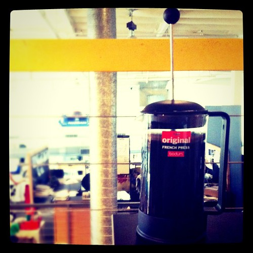 Busting out the French Press!