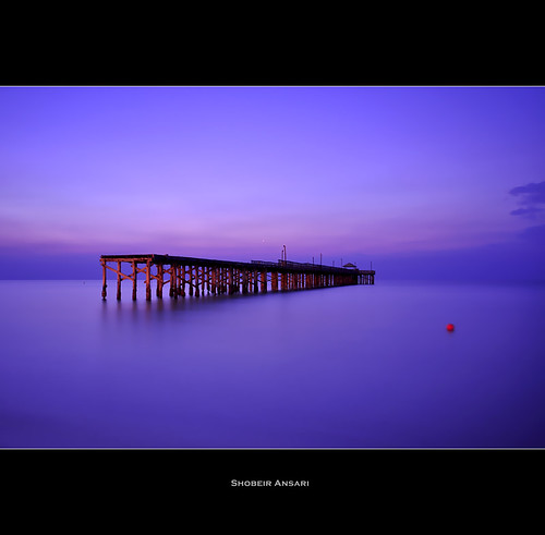 ocean longexposure abandoned beach sunrise pier florida miami cut atlantic bluehour fishingpier southflorida miamidade pierpark sigma1020 sunnyisle sunnyislebeach shobeiransari newportfishingpier