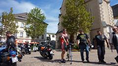 Центральная площадь в городе Villach
