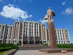 Presidential Palace in Tiraspol, Transnistria