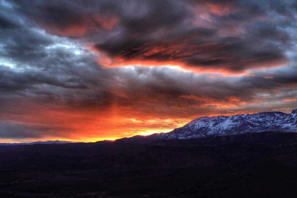 Pine Valley Sunset | Sunset on Pine Valley Mountain,Utah ...