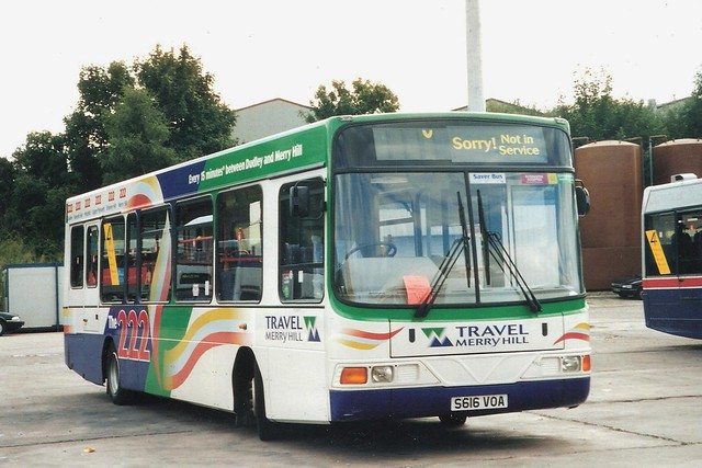 Travel Merry Hill Volvo B6LE/Wright Crusader 616 (S616 VOA)
