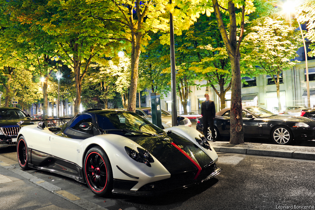 Pagani Zonda Cinque Roadster Become A Fan On Facebook My Flickr