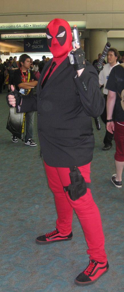 Gentleman Deadpool   Kelson Vibber   Flickr
