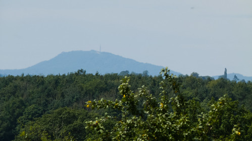 Distant view of the Wrekin