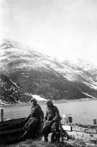 Vaktsoldater Mosjøen 11. mai 1940