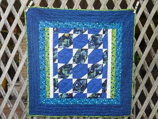 Blue Quilt Front