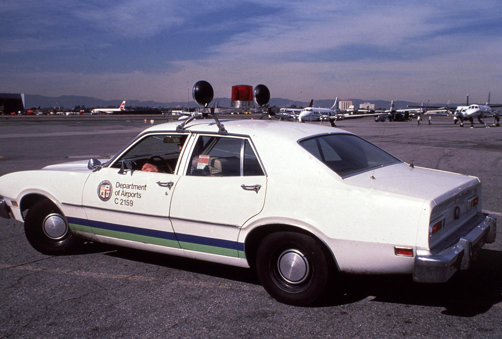 LAX Ops Car December 1979