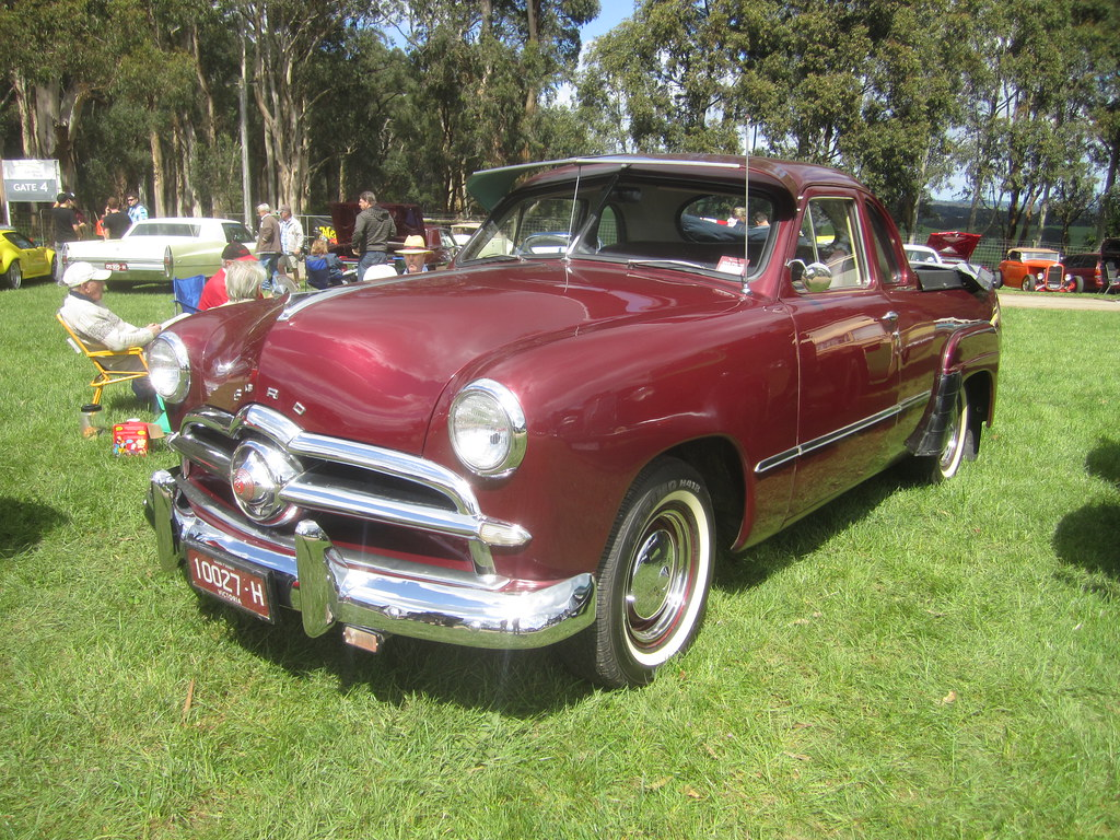 1949 Ford V8 Custom Coupe Utility | 1949 saw a completely re