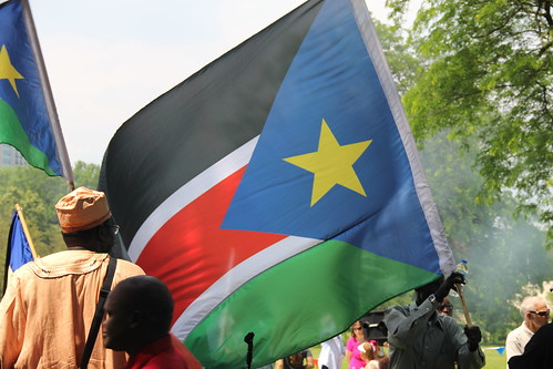 South Sudan Independence Day Celebration at Diversey Harbor Grove | by danxoneil