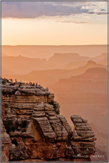Sunset at Grand Canyon - Arizona