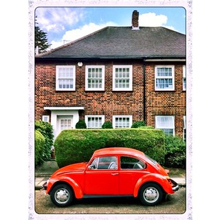 Another shot of the orange #VW #Beetle everybody loved so much :)