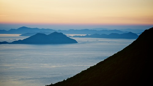 sunset fog bay nikon day takamatsu nikkor fx 夕焼け yashima 湾 70300mmf4556gvr 屋島 d700 ©jakejung
