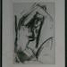 3. August 2011 - 11:05 - 010768 weibl Akt sitzend mit erhobenem Arm