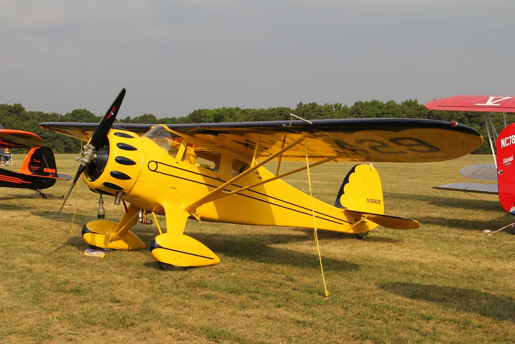 Monocoupe 90A, NX15429 | (Antique Airplane Association Fly-I