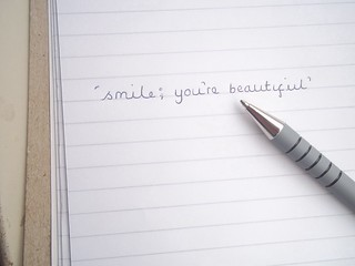 Hey baby, don't forget to smile. | by lucywatson-