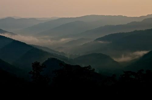 beauty fog scenery tn vista pentaxk7