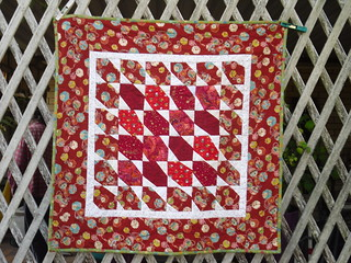 Red Quilt Front