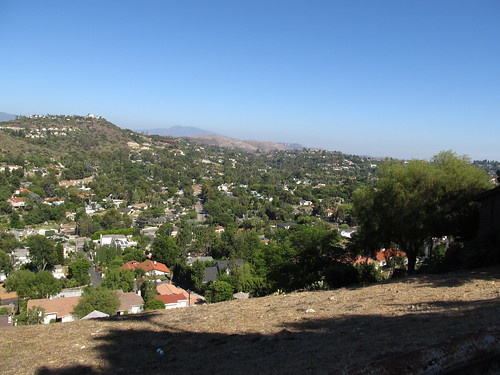Views of Orange County from Orange, California