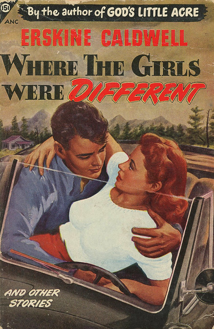 Avon Books 151 - Erskine Caldwell - Where The Girls Were Different