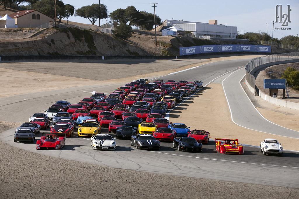 Ferrari Club of America: Monterey 2015