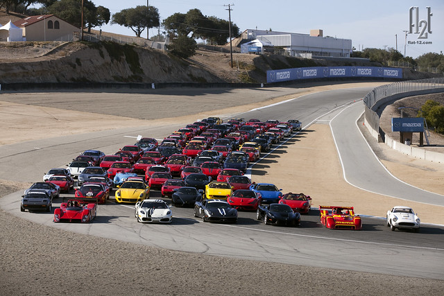 Ferrari Club of America: Monterey 2015