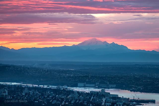 Baker's Sunrise ~ West Vancouver, BC