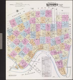 Insurance plan, volume 1, sheet 1A,  Winnipeg, Manitoba, August 1906 / Plan d'assurance-incendie, volume 1, feuille 1A, Winnipeg (Manitoba), août 1906