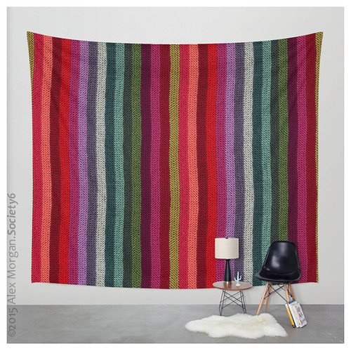 Get Knitted.wall canvas/throw