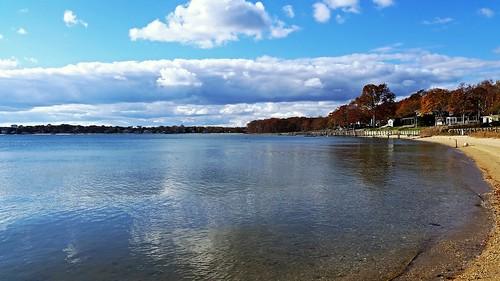 greenport shelterislandbay bay longisland newyork waterscape landscape samsungphotography phonephotography