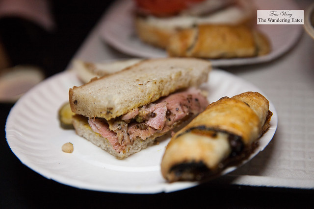 Pastrami sandwich by Chef Ryan Bartlow of Quality Meats