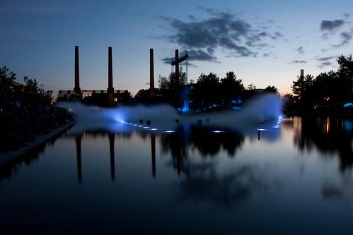 show light sunset mist water night tamron wolfsburg autostadt 18280 stephenquattro