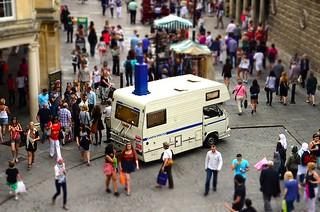 Camper Obscura at Fringe Arts Bath (FAB), Bath Fringe Festival, UK, May & June 2011