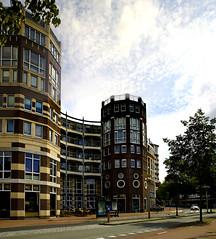Amsterdam : Ingang Meander van Hallstraat.