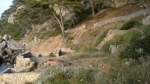 Hiking at St Cyr sur Mer
