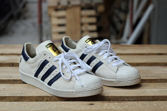the latest 4dfcb ce931 adidas superstar 80s bape b sides