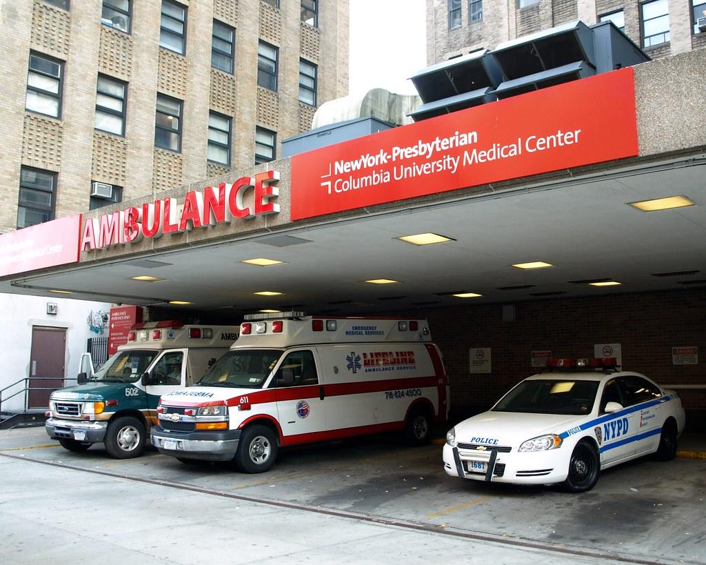 EMS Ambulance Station, Columbia Presbyterian Hospital Cent