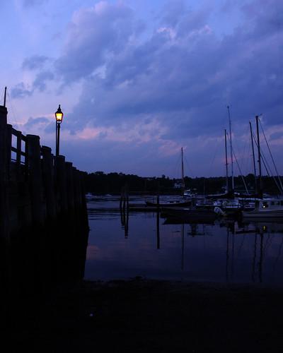 sunset water night twilight pentax cloudy maine belfast kx waldocounty regionwide