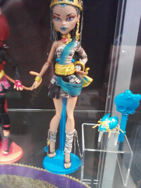 Nefera De Nile Monster High Preview Comic Con 2011