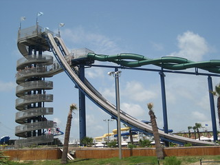 Schlitterbahn Waterpark - Galveston, Texas | by CJTravelTips.com