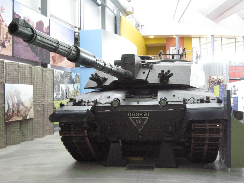 750b34a757f5 ... British Challenger 2 Main Battle Tank at Bovington Tank Museum