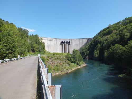 bridge dam mossyrock cowlitz riffelake mossyrockdam