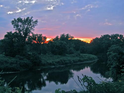 sunset summer rio river geotagged ma us unitedstates bend rivers westernmassachusetts riverbend housatonic lateday housatonicriver greatbarrington berkshirecounty
