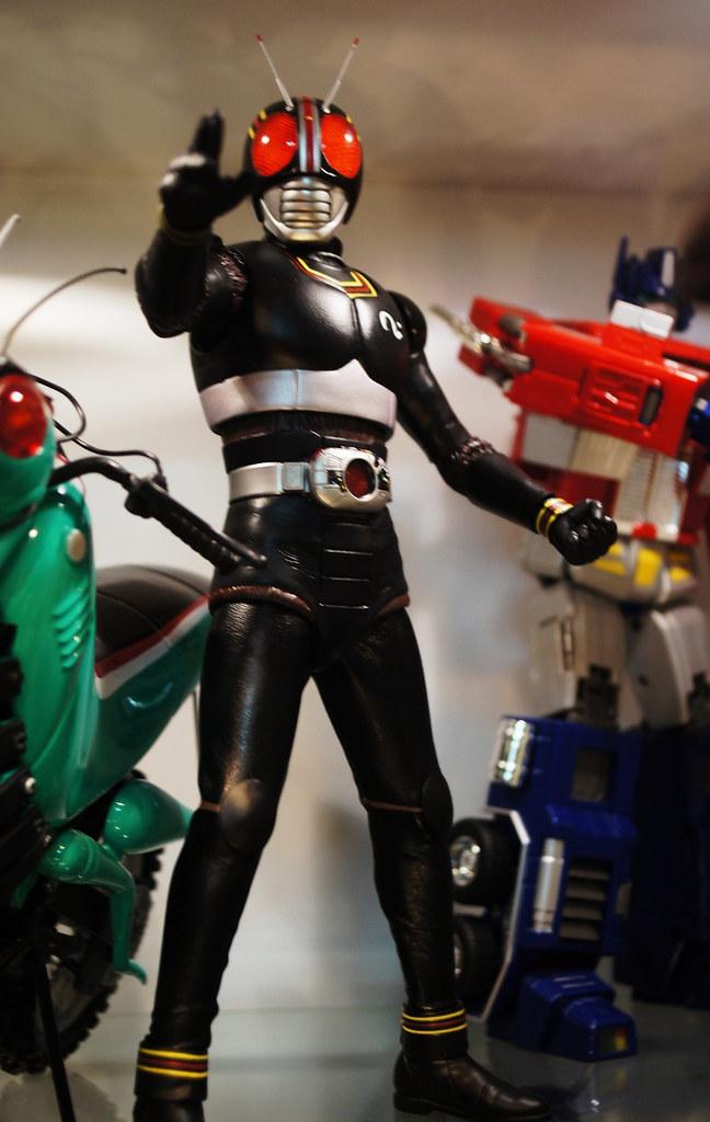 Kamen Rider Black | Medicom RAH DX Masked Rider Black Kamen … | Flickr