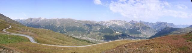 Panorama su Livigno