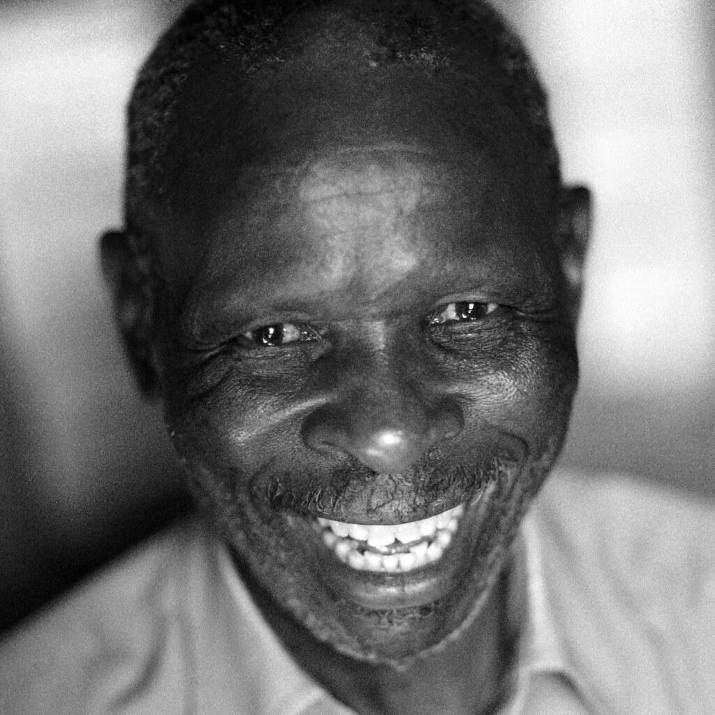 Faces black white by dietmar temps