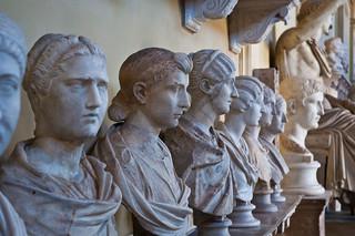Romans, Vatican Museum, Sept. 2011