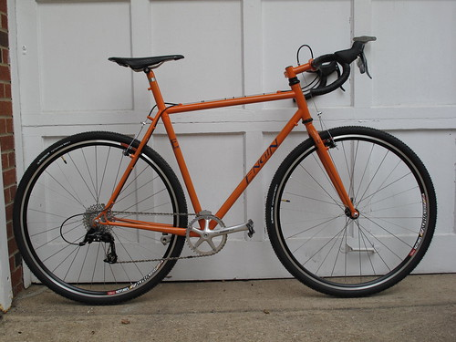 Mark's cross bike